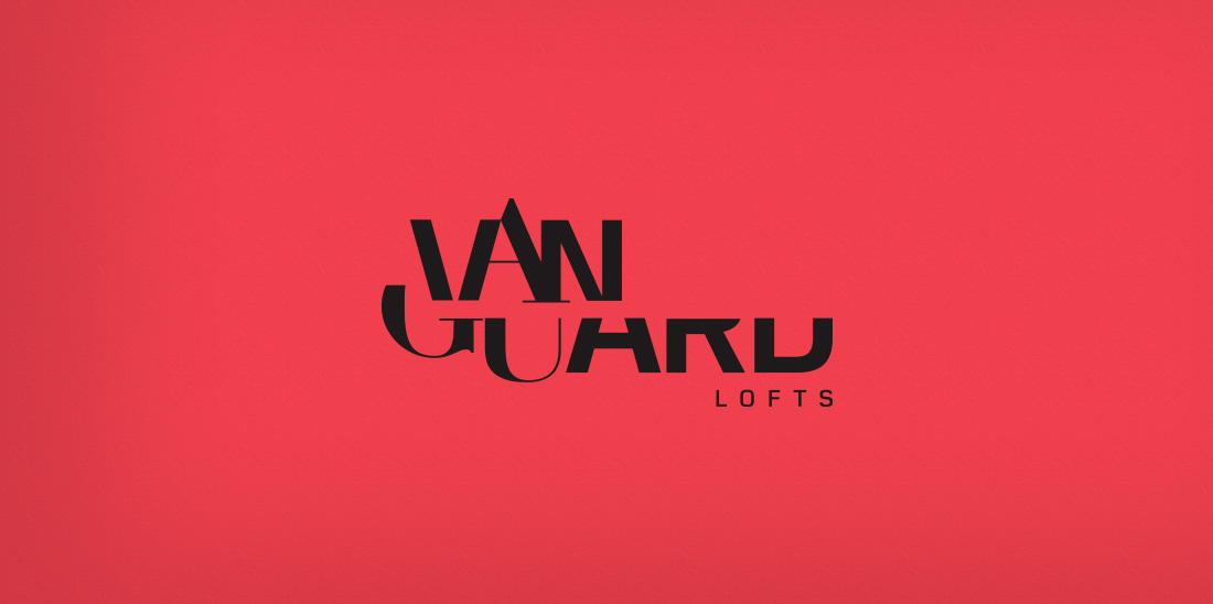 New Work: Identity for Vanguard Lofts in Sarasota, Florida
